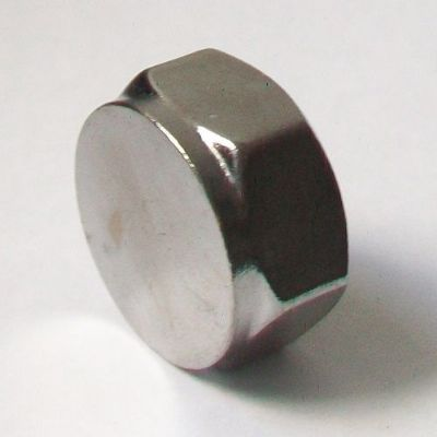 3/4 inch Chrome Plated Threaded Cap